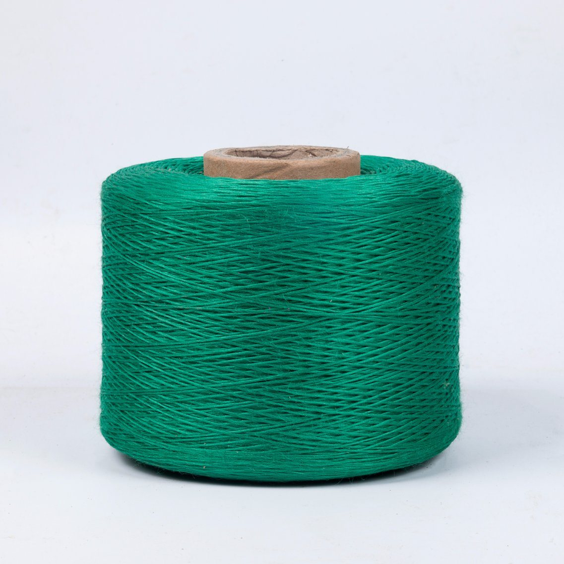 Sturdy Green Polyester Firm Yarn for Cable