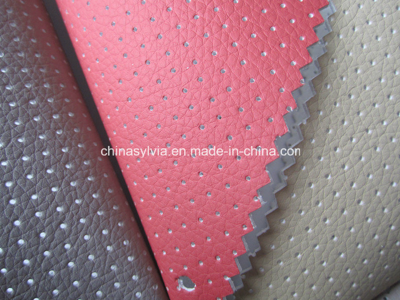Perforated Microfiber Leather