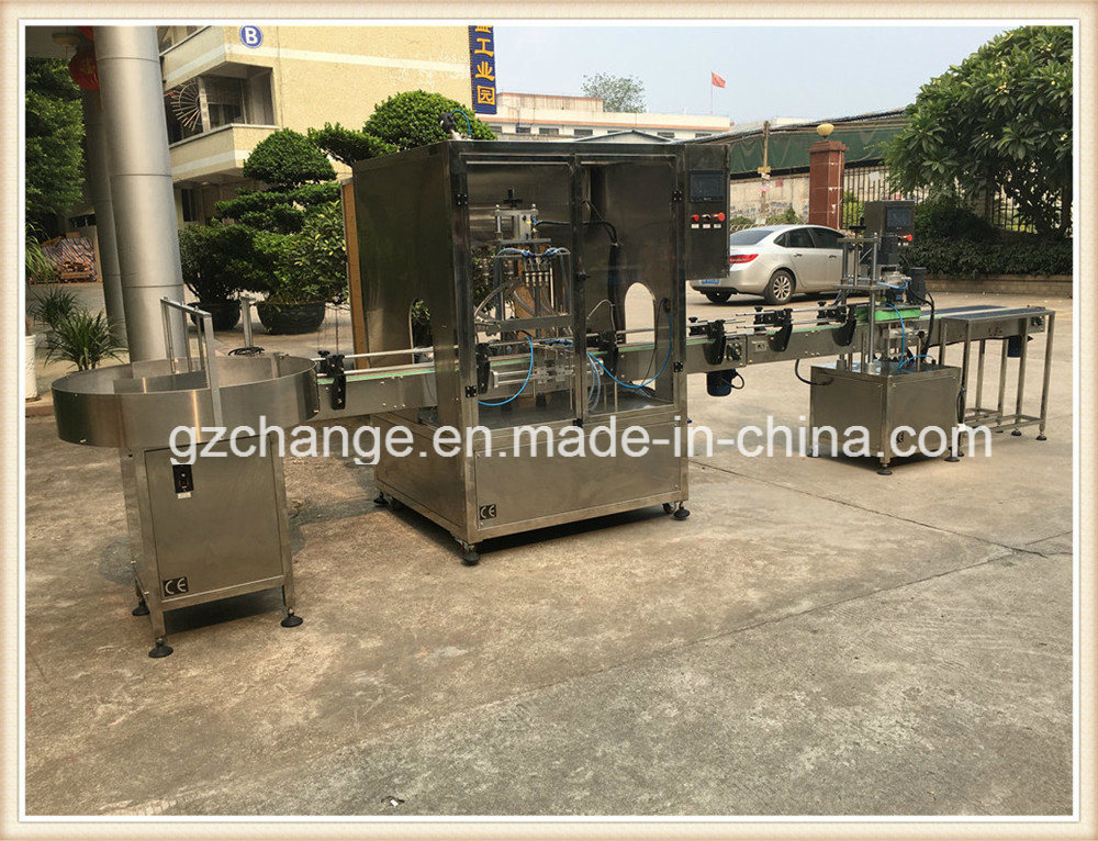 Automatic Liquid Filling Machine for Cosmetic Product Baby Bath Shower Gel