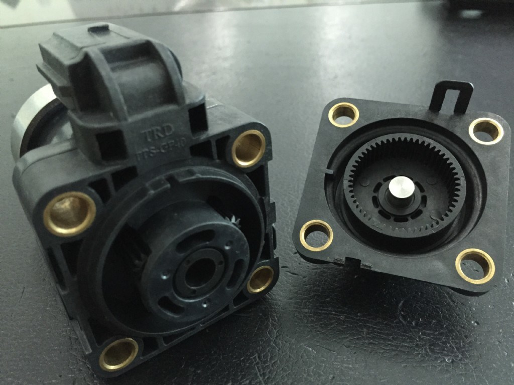 Automobile Worm Gear Box of Supercharger