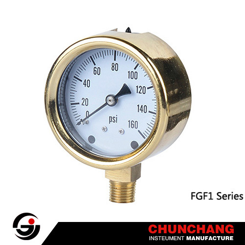Brass Case Pressure Gauge