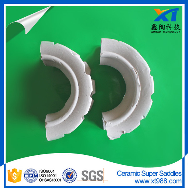 Ceramic Super Intalox Saddle Ring for Drying Tower