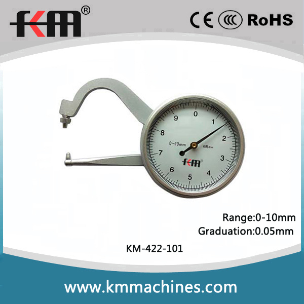 0~10mm Thickness Dial Caliper Gauges