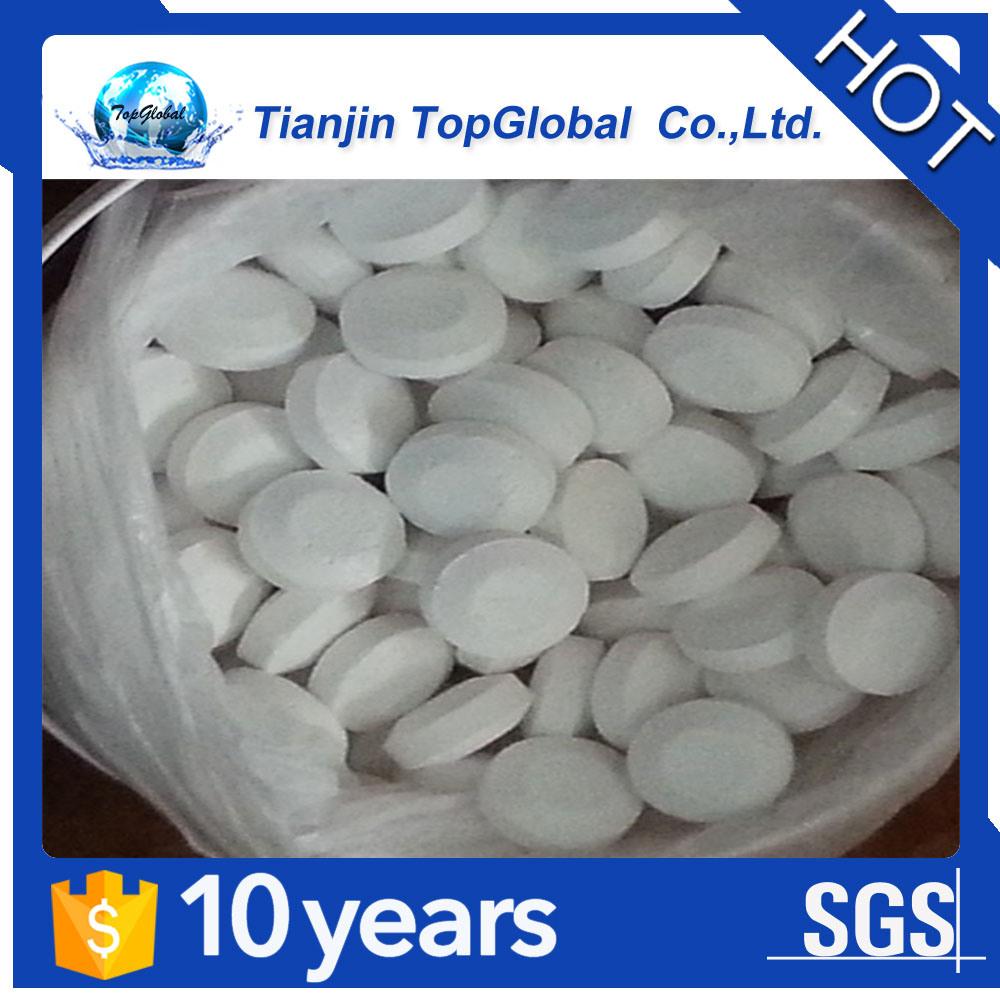CAS No 2893-78-9 pool chemicals SDIC 56% granular