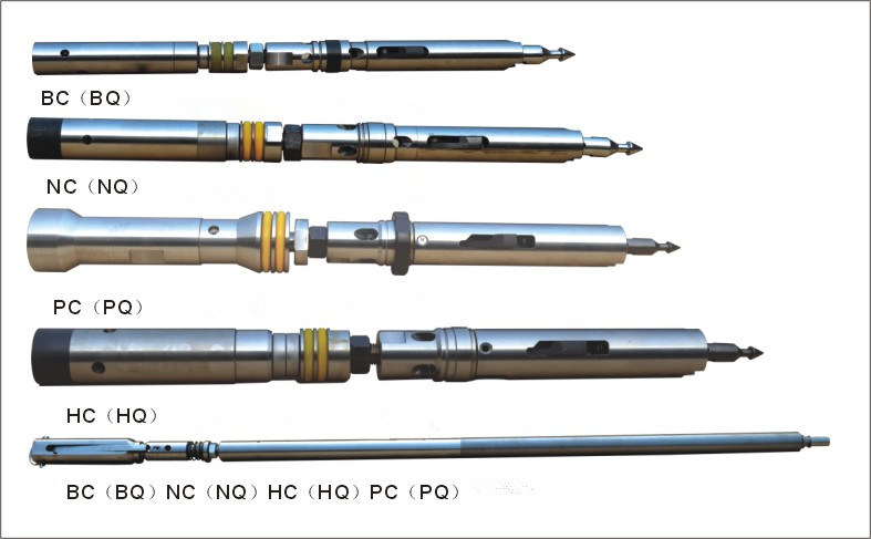 Wireline Drilling Core Barrels (B N H P sizes)