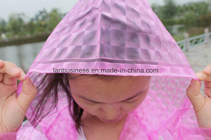 3D Parent-Child Rainwear in Different Colors