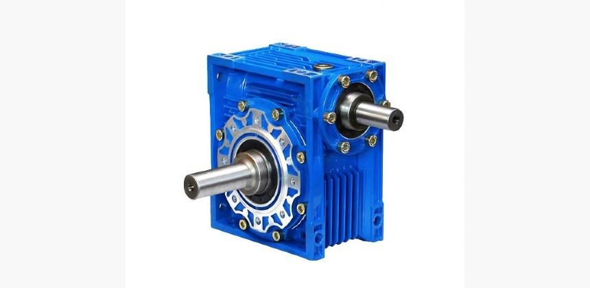 Nmrv Aluminum and Iron Worm Gear Speed Reducer Belt Conveyor Motor