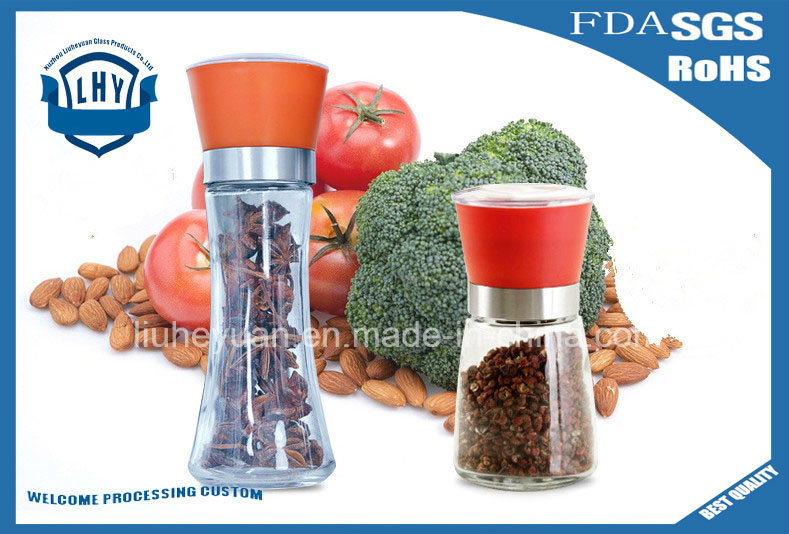 180ml Glass Pepper Spice Grinder