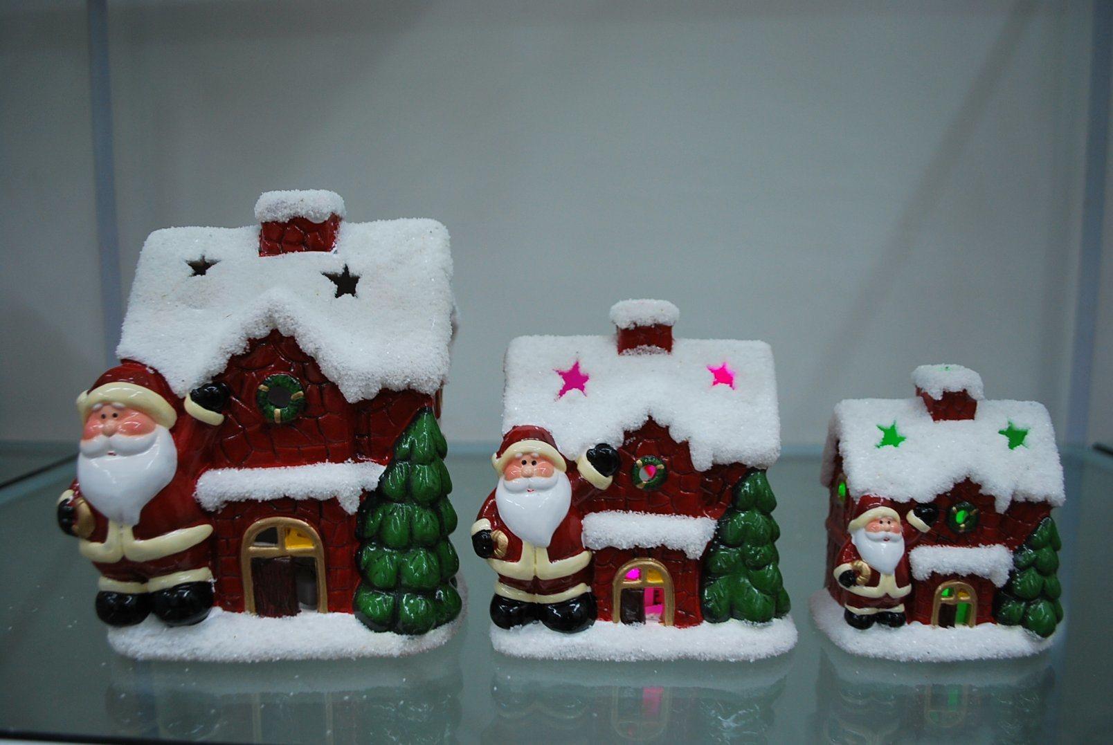 Xmas Candle Holder Home Decor Craft