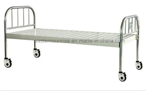 Cheap Price Hospital Use Medical Steel Bed