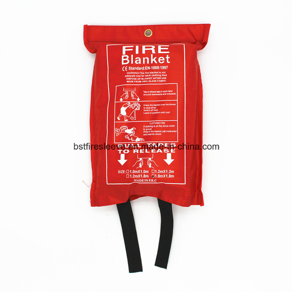 Thermal Insulation Fiberglass Fireproof High Temperature Resistant Fire Blanket