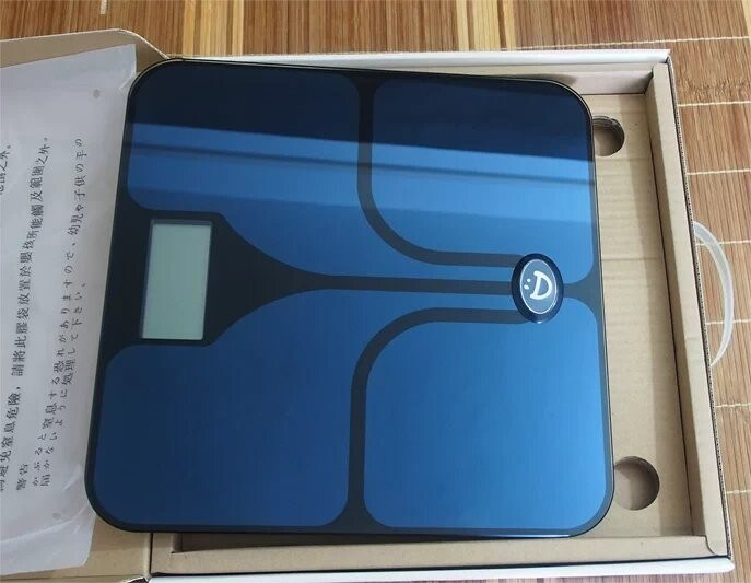 17 Human Composition Parameter Body Fat Scale