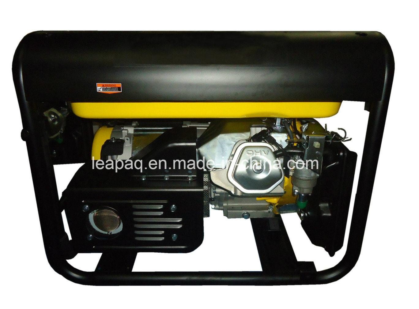 2.8kw Wheels & Handle P-Type Portable Gasoline Generator