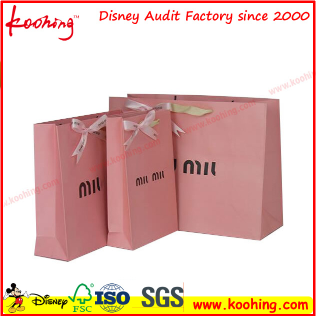 Environmentally Kraft Paper Gift Bag with Strong Quality