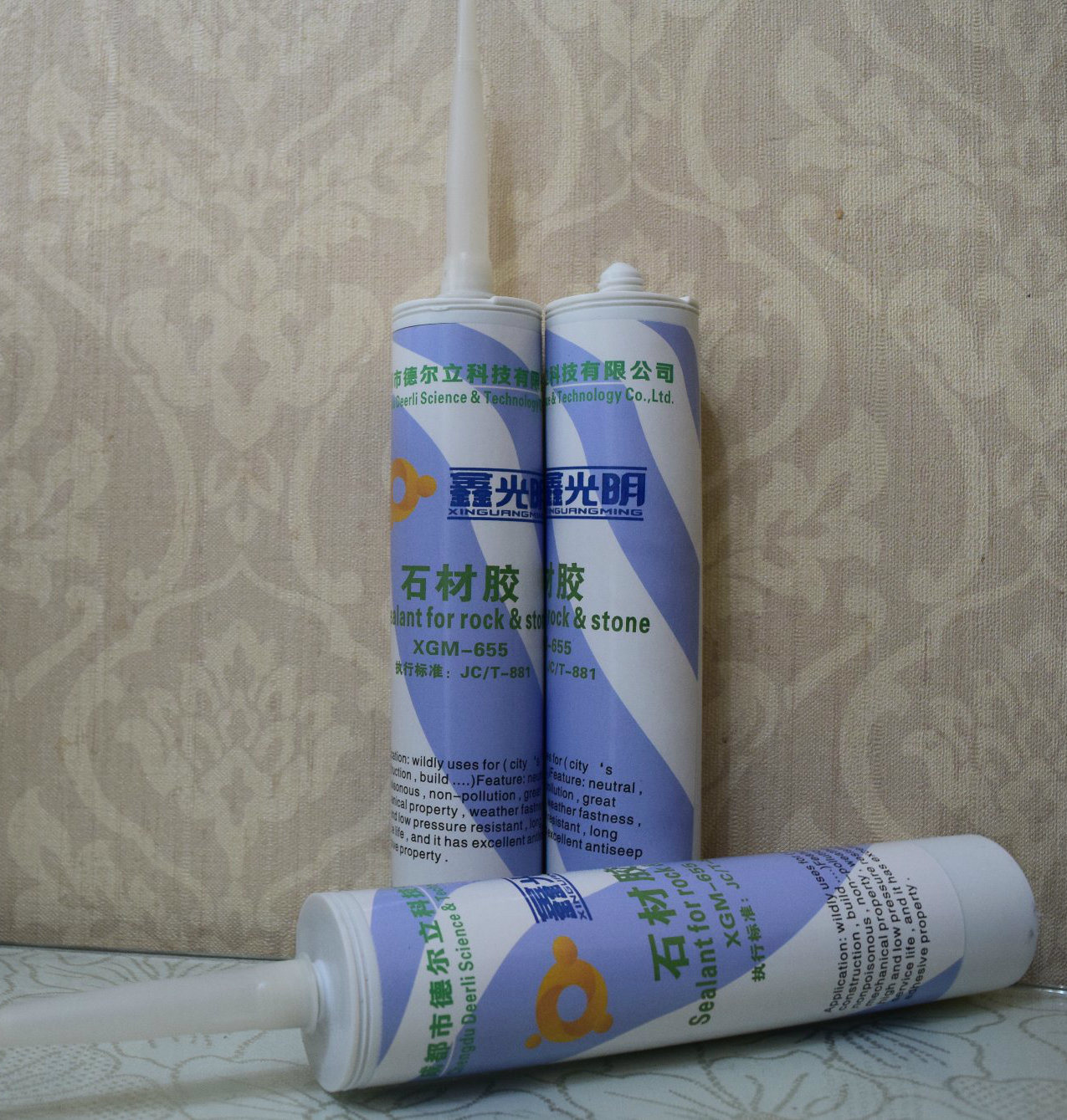 Sealant for Rock and Stone, Uses City′s Construction Neutral Adhesive