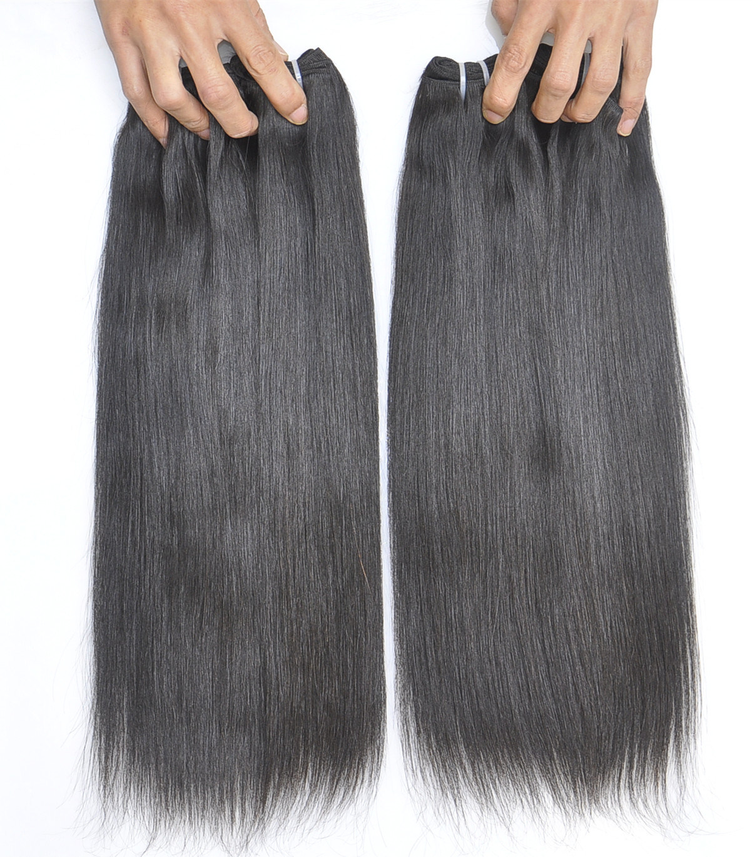 Labor Hair Products Brazilian Hair Weave Bundles Straight Virgin Hair 105g, Top Human Hair Extension Bundles