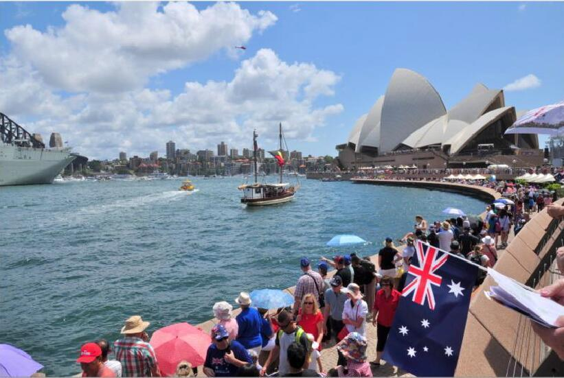 Custom Waterproof and Sunproof National Flag Australia National Flag Model No.: NF-004