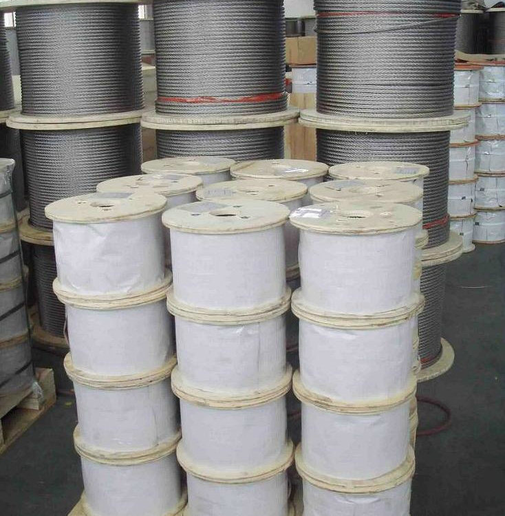 7*19 Stainless Steel Wire Rope 201/302/304/316