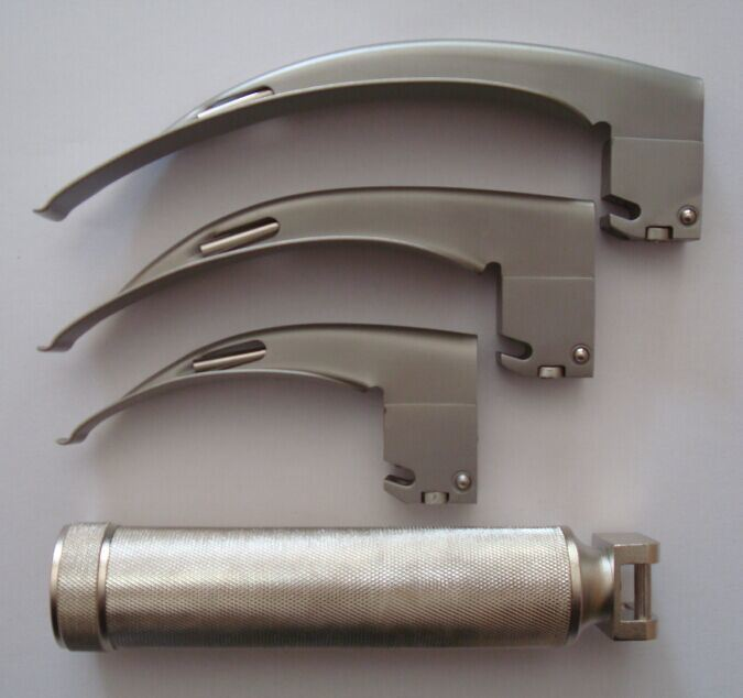 Reusable Fiber-Optic Laryngoscope (Adult set) (HS-410)