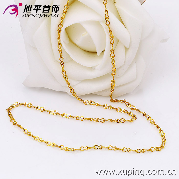 Xuping Fashion 24k Gold Color Necklace (42480)
