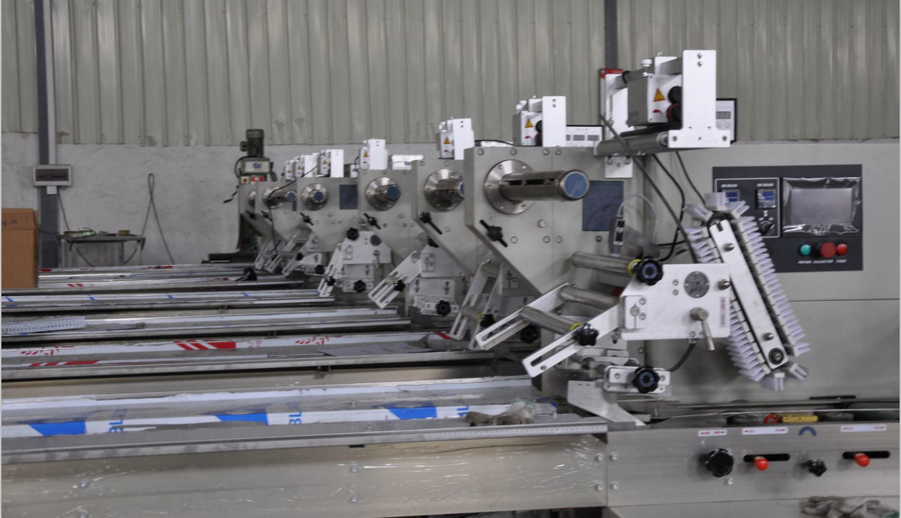 High quality Smai-Automatic Sealing Pillow Pack Biscuit Packaging Machine