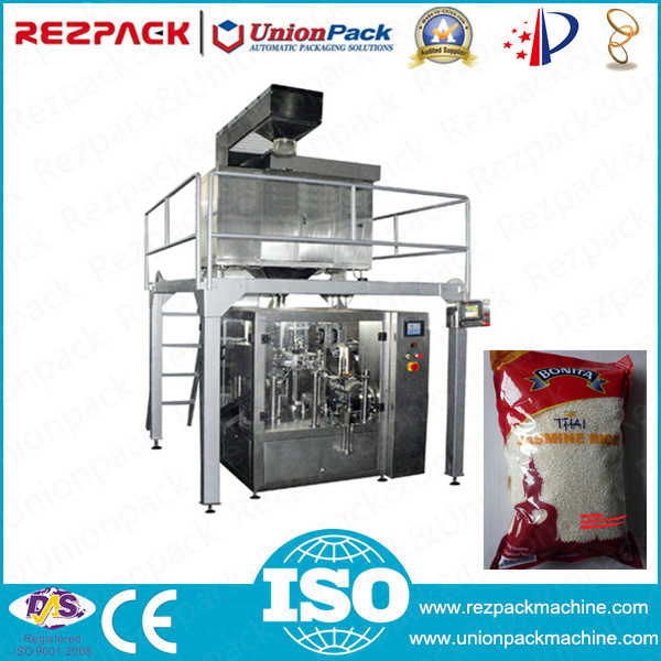 Automatic Pick Fill Seal Rice Packing Machine (RZ6/8-200/300A)