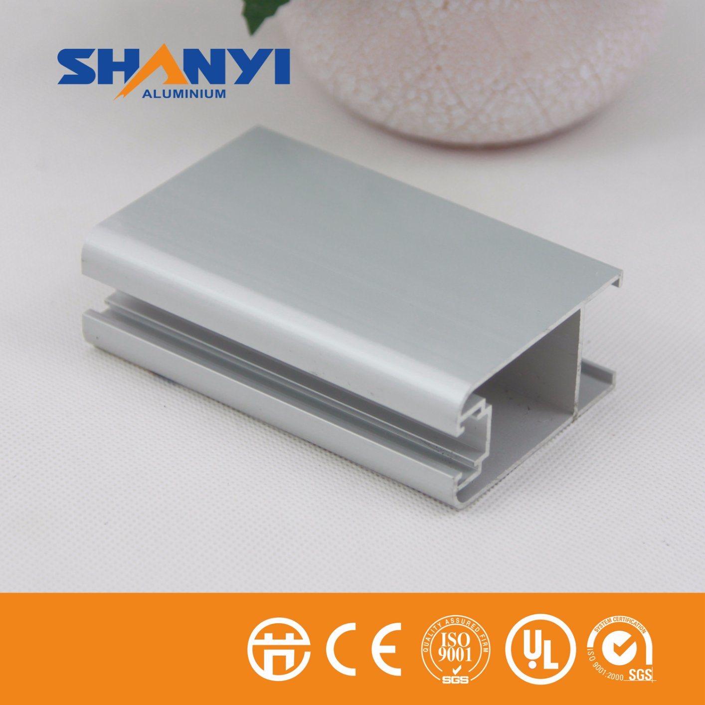 6063 Series Extruded Aluminum Extrusion / Aluminium for Windows and Doors
