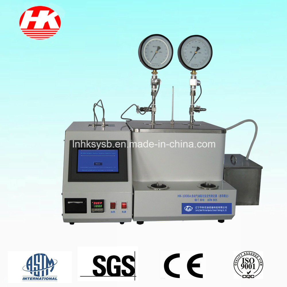 Automatic Gasoline Oxidation Stability Tester (Induction Period Method)