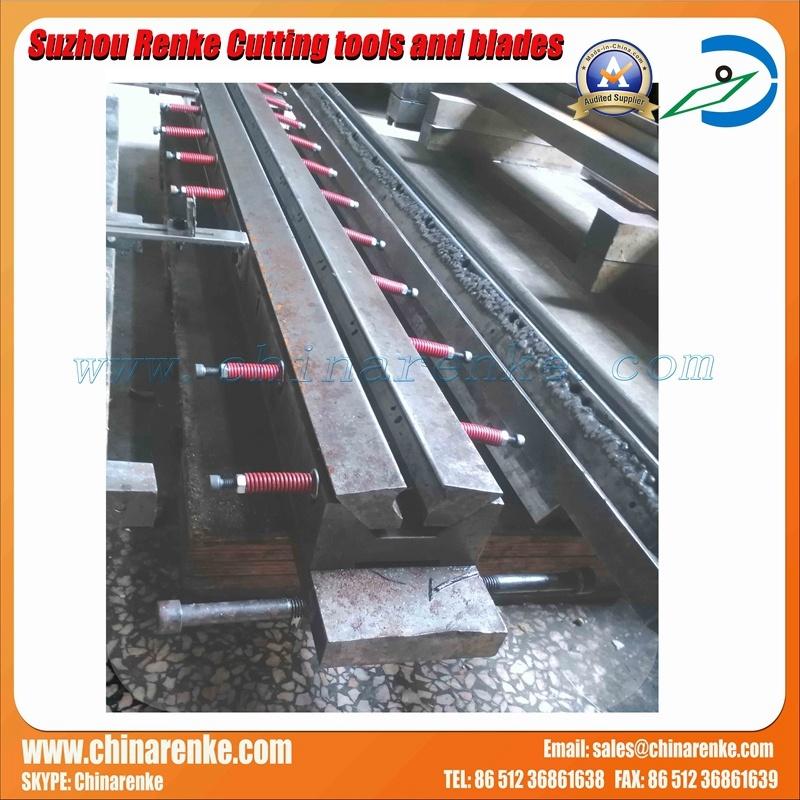 Press Brake Tooling in Bending Machine with Material 42CrMo