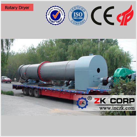 Rotary Dryer for Slag, Coal, Slime, Sludge/Rotary Drum Dryer