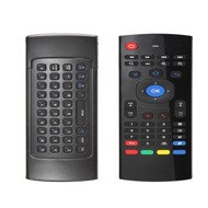 Air Mouse with Mini Qwerty Keyboard 2.4G Wireless Remote Control for Smart TV/Android TV