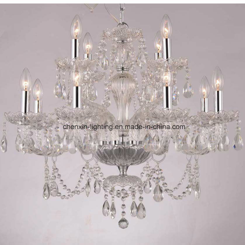 Classic Crystal Lamp and Chandelier for Art Hanging Lighting Decor