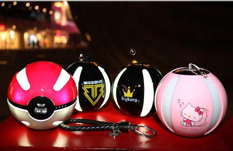 Pikachu Magic Ball Pokeball Power Bank Pokemon Go Portable Power Bank