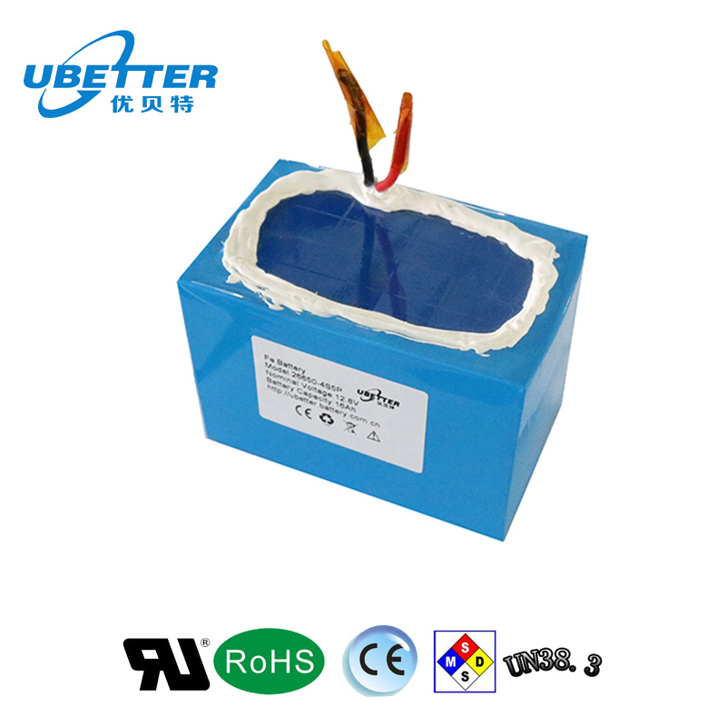 Prismatic LiFePO4 Battery Cell 12.8V 30ah