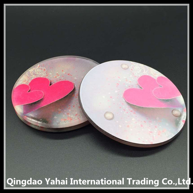 4mm Clear Tempered Glass Coaster