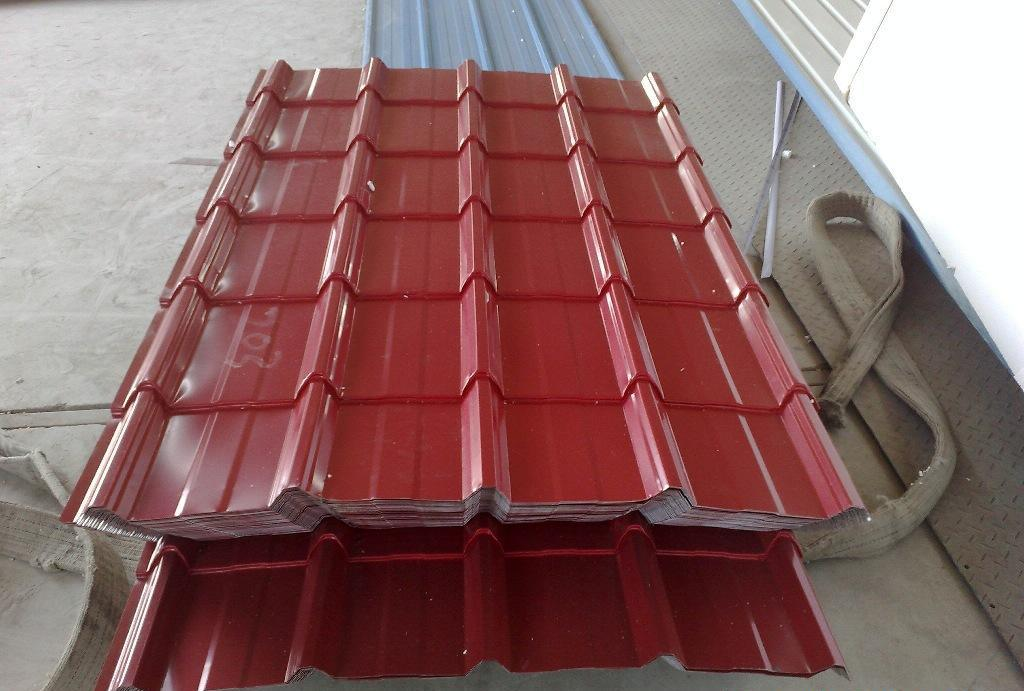 Corrugated/Roofing Galvanized Steel in Coil&Sheet (Yx14-65-825 (Hot))