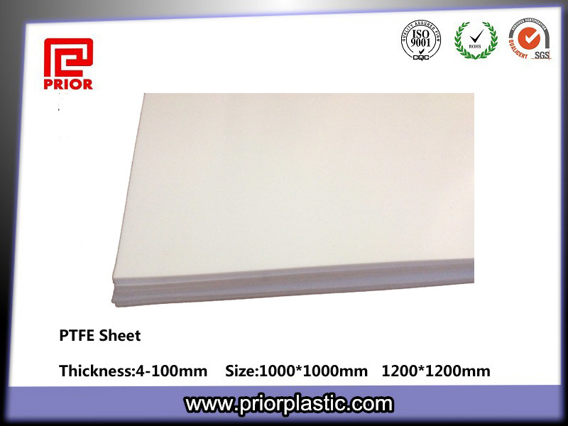 100% Virgin PTFE Sheet, Teflon Sheet with White Color