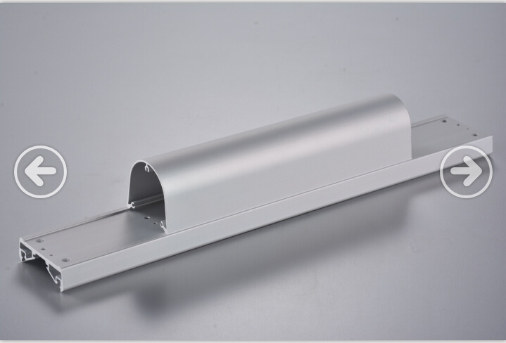 SGS Approved Aluminum Profile with CNC Machining