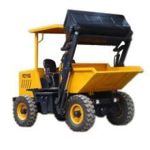 Self-Loading Site Dumper with Hydraulic Tipping System