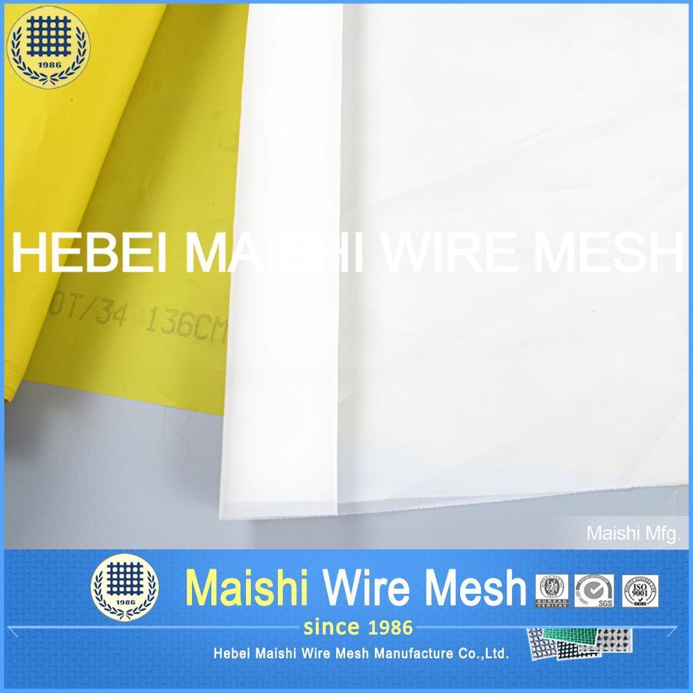 Monofilament Polyester Filter Silk Screen Mesh