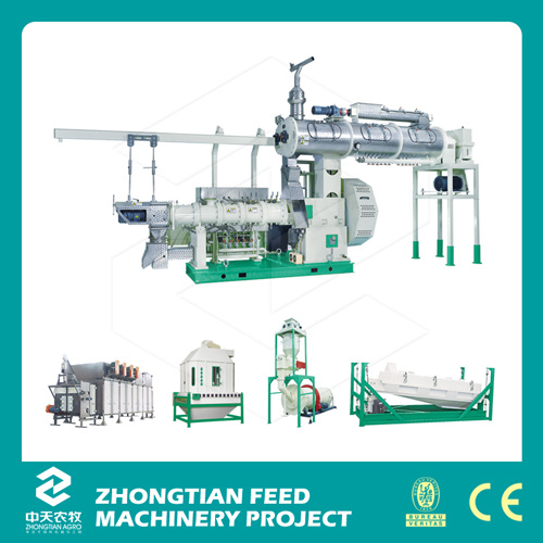 Aqua Feed Complete Engineering Production Line