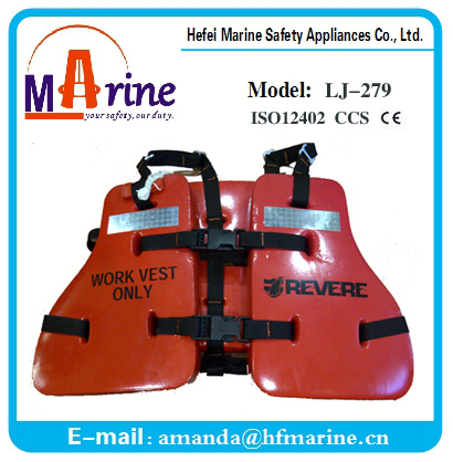 Best Quality Industrial Workers Life Jacket Oil Worker Lifevest