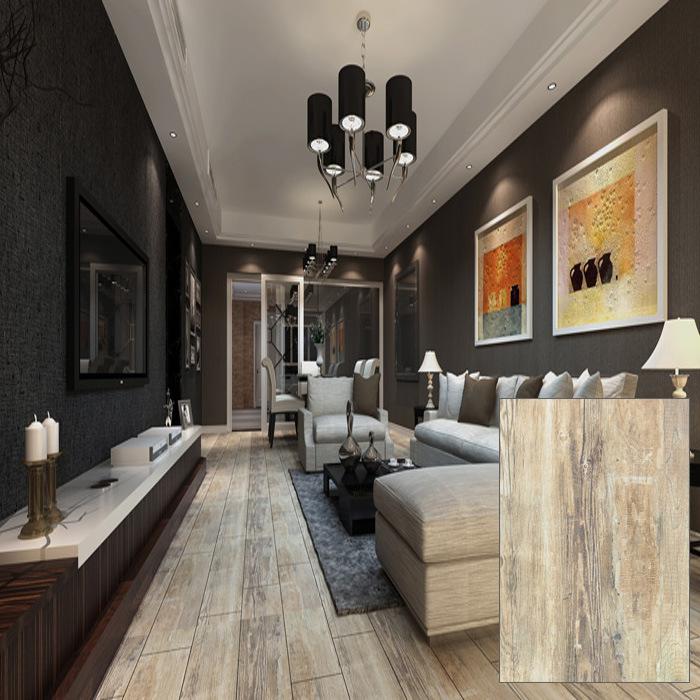 Rustic Wooden Glazed Floor Tile (DK6906)