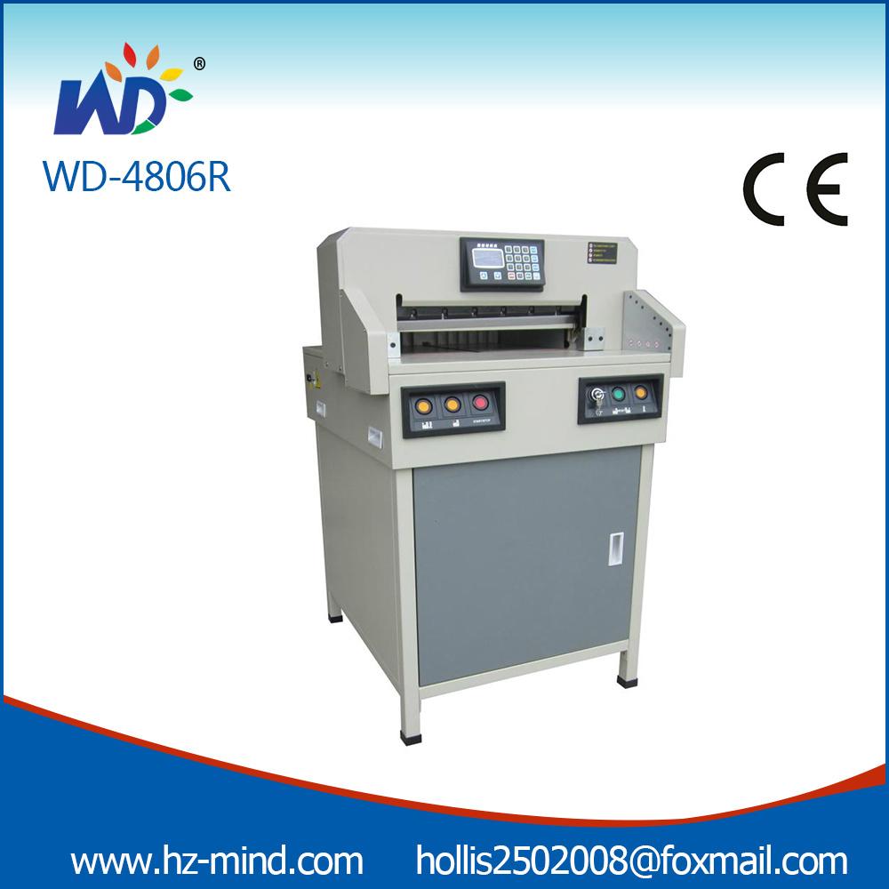 Professional Manufacturer Program-Control Paper Cutting Machine (WD-4806R 18 Inch)