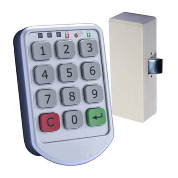 for Sauna Room Wooden Locker Electric Keyless Code Cabinet Lock
