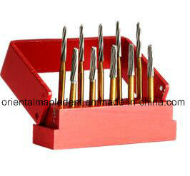 Dental Titanium Plated Endo-Z Carbide Burs