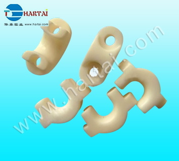 Alumina Ceramic Cable Holder Ceramic Eyelet
