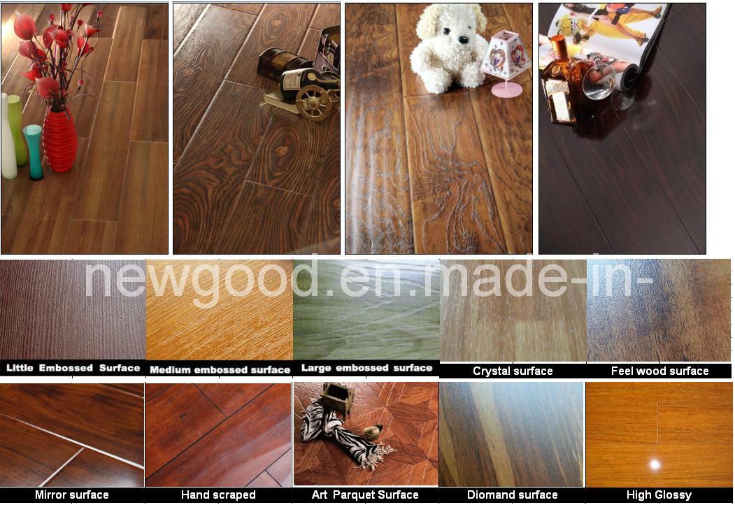 8mm/12mm AC3 AC4 Grade Laminate Flooring, Laminated Flooring, Wood Flooring, Wooden Flooring, Parquet Flooring