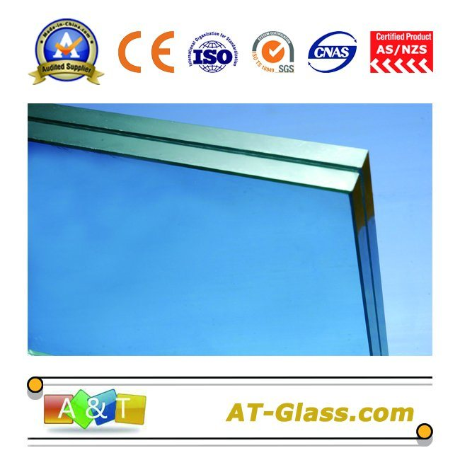 6.38mm Laminated Safety Glass/Laminated Glass/Toughened Glass with AS-NZS 2208-1996