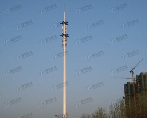 Binary Star Landscape Telecommunication Steel Tower
